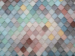 צבעים שונים לקראת עיצוב של בית